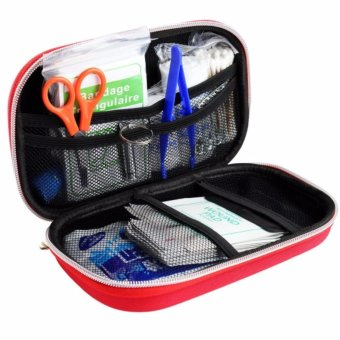 First Aid Kit Bag Emergency Medical Survival Rescue Box