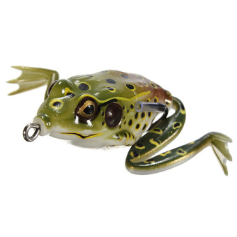 Fishing Ray Frog Lures Bait Crankbaits Pointed Mouth - picture 2
