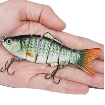 Fishing Wobblers Lifelike Fishing Lure 6 Isca Artificial LuresFishing Tackle - intl