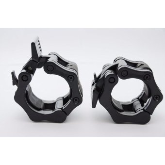 FitClamp Olympic Barbell Clamp Collar Pair of 2 Inch Locking Set,Pro Crossfit Strong Lifts Professional Quality Price Philippines