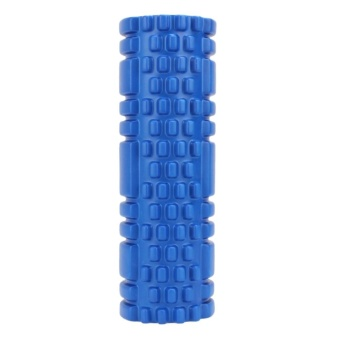 Fitness Floating Point Yoga Foam Roller for Gym Sports Massage(Blue) - intl