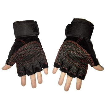 Fitness Weight Lifting Gloves Power Luvas Fitness AcademiaAnti-skidGuantes Protective Crossfit Sports Gloves Gym Guantes M - intl - 4