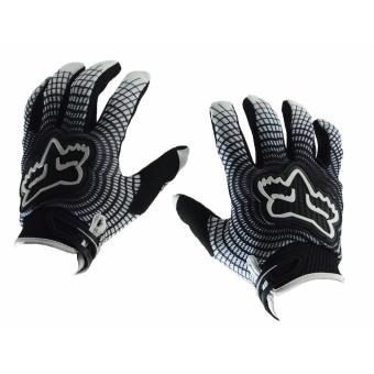 Fortress Motorcycle /Bike Cycling Full Finger Gloves Large Size(FF10-Large)