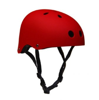 Fortress Nutshell Nutcase Motor/Bike Sports Helmet (Matte Red)(S,M,L) Price Philippines