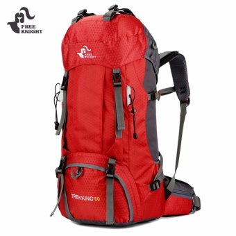 FREEKNIGHT 60L Sports Climbing Backpack with Rain Cover - intl Price Philippines