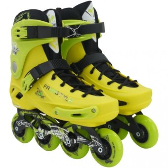 Freestyle Roller Blade Speed Skate High Point Sports Inline Skates(Green/Yellow) Price Philippines
