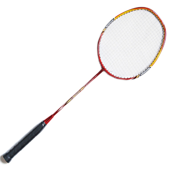 Fugeli VT25 High Quality Aluminum Badminton Racket (RED)