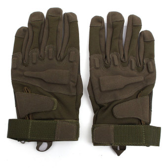 Full Glove Military Tactical Army Green L (Intl)
