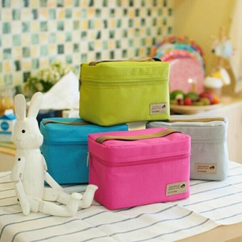 Full waterproof portable small bag lunch bag insulated bag