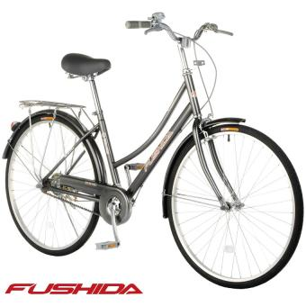 Fushida TS 26 x 1-3/8 City Cruiser Bike (Gloss Pearlized Charcoal Gray)