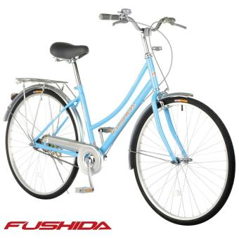 Fushida TS 26 x 1-3/8 City Cruiser Bike (Gloss Pearlized Sky Blue)