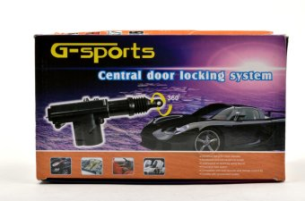 G-sports Central Door Locking System (Black)