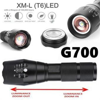 G700 Tactical Flashlight LED Military Lumitact Alonefire - intl