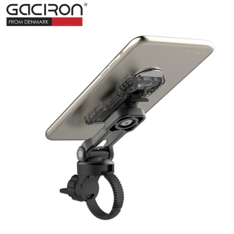 GACIRON Lightweight Phone GPS Handlebar Holder Mount for Bike Bicycle (Black) - intl - 5