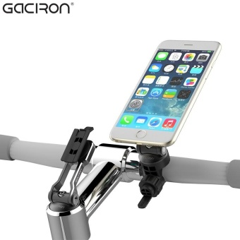 Gaciron Universal Mobile Phone Holder Bicycle Accessories Phone Stand Bike Cycling Handlebar Mount Holder For iPhone 6 Android phone - intl