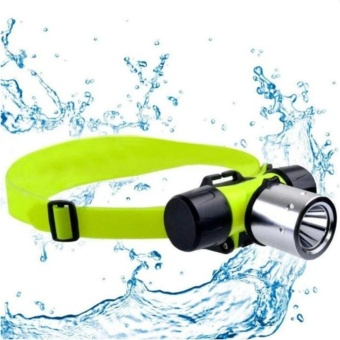 GDLITE Waterproof CREE T6 Underwater 20m LED Diving FlashlightHeadlamp