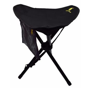 GEERTOP Large Folding Tripod Stool Slacker Chair With Mesh PocketFor Fishing & Camping & Hiking - intl