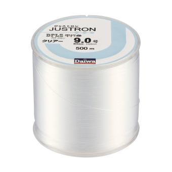 GOOD High Strength Nylon Transparent Fishing Line Wear-resistant Strong Pull 500m transparent 9