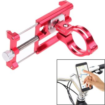 GUB G-85 Metal Bike Bicycle Holder Motorcycle Handle Phone MountHandlebar Extender Phone Holder For iPhone Cellphone GPS Etc RED -intl
