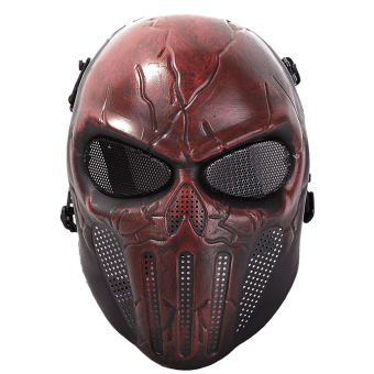 Halloween God Ghost Skull Cosplay Masquerade Mask Breatherable Airsoft Full Face Mask Paintball Protect Gear Equipment
