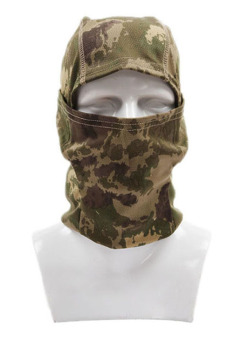 Hang-Qiao Full Face Camouflage Mask (Green)