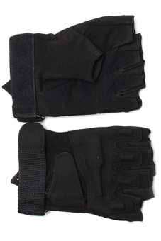 Hanyu Cycling Riding Tactical Mittens(Black) - 2