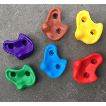 (HAPPY)Kids Rock Climbing Holds with Mounting Hardware - intl Price Philippines