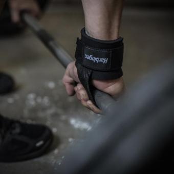 Harbinger Big Grip No-Slip Nylon Lifting Straps with DuraGrip(Pair) Original - 3