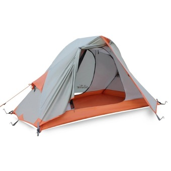 Hewolf 1-2 Person 4 Seasons Waterproof Outdoor Camping Tent withCarry Bag - Intl Price Philippines