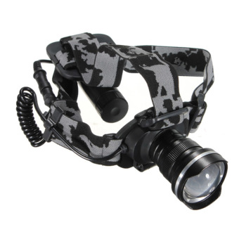 HKS 2000LM XM-L T6 LED Headlight Zoomable Flashlight - Intl - picture 2