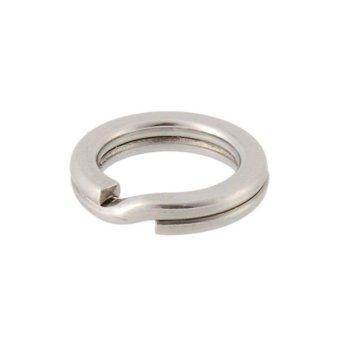 HKS Generic Powerful SUS Steel Sprit Ring 8# (Silver) outdoor adventure - Intl
