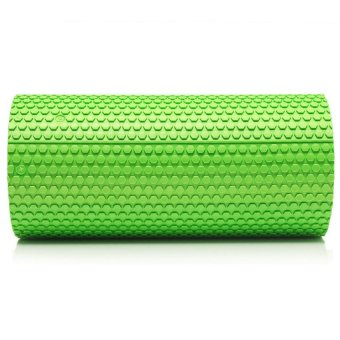 HKS High Density Floating Point Foam Yoga Massage Roller Fitness/Physio/Gym (Green) - Intl