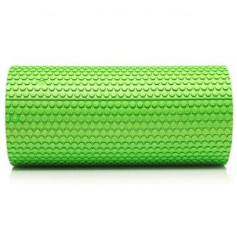 HKS High Density Floating Point Foam Yoga Massage Roller Fitness/Physio/Gym (Green) - Intl