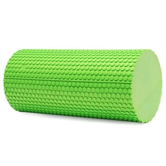 HKS High Density Floating Point Foam Yoga Massage Roller Fitness/Physio/Gym (Green) - Intl - picture 2