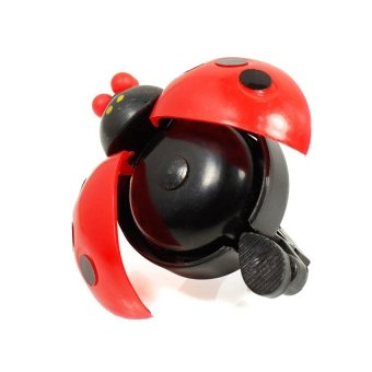 HKS New Bicycle Ladybug Bell Bike Handlebar Ladybird Alarm Horn (Red) outdoor adventure - Intl - picture 3