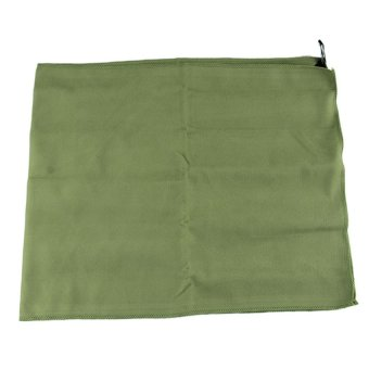 HKS New Camping Towel Outdoor Microfiber Towel Quick-drying Outdoor Sports Towels Green - Intl - picture 2