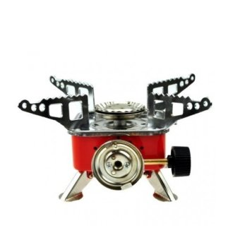 HKS Portable Card Type Stove with 20cm Frying Pan outdoor adventure - Intl