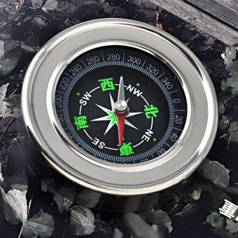 HKS Precision and Portable Stainless Steel Base Compass Outdoor Adventure - Intl - picture 3