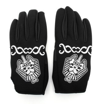 HKS QEPAE Cycling Full Finger Gloves Bike Bicycle Black XL - Intl - picture 2