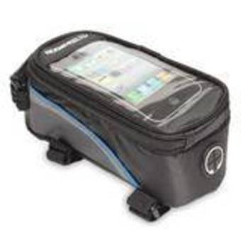 HKS Roswheel Cycling Frame Pannier Front Tube Cell Phone Bag Pouch (Blue) - Intl - picture 2