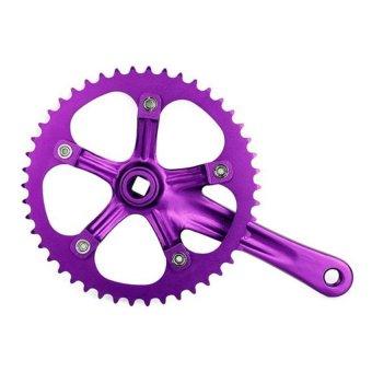 HKS Single Speed Bike Fixed Cranks 170mm (Purple) - Intl - picture 2