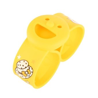 HKS Smiley Lap Replacement Module Mosquito Repellent Ring Yellow - Intl