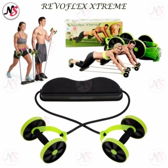 Home Total Body Fitness Gym Revoflex Xtreme Abs Trainer Resistance Exercise