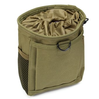 HOT Military Molle Belt Tactical Paintball Magazine Dump Drop Reloader Pouch Bag Army Green - intl