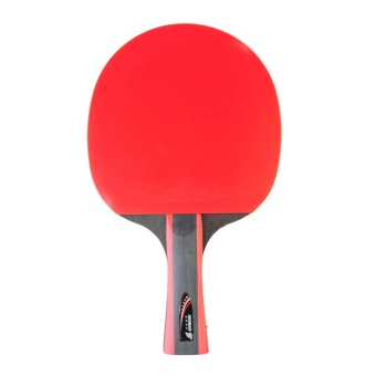 HUOBAN 6336A Table Tennis Racket Ping Pong Paddle Long HandleDouble Face Table Tennis Racket Set With Balls Bag - intl Price Philippines