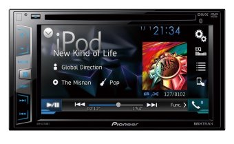 "Pioneer AVH-X2850BTDVD Car Stereo 6.2"" AV Receiver with Bluetooth (2016 model) Price Philippines"