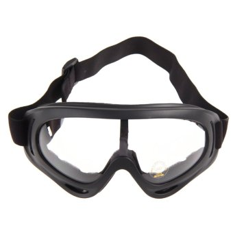 Sunglasses Motorcycle Ski Goggles Glasses (Transparent) Price Philippines