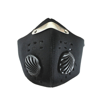 Hequ PM2.5 Activated Cycling Masks Carbon Riding Mask Hiking Outdoor Sports Anti-pollution (Black) Price Philippines