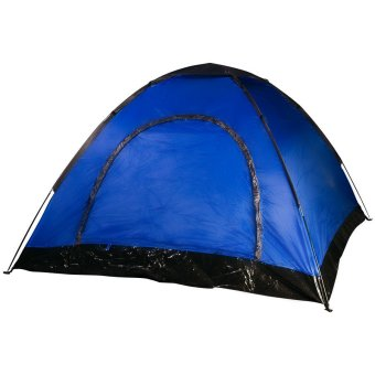 Harga 8-Person Camping Tent (Blue)
