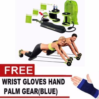 Harga Must Have Revoflex Xtreme (Green) With Free Wrist Gloves Hand (Blue)